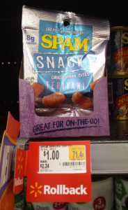 FREE Spam Snacks at Walmart! (Reg. $2.24)