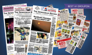 52-Week Wednesday, Saturday, and Sunday Subscription to The Spokesman-Review Only $19.99! ($239 Value)
