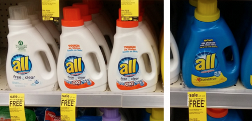 Walgreens: All Laundry Detergents Only $2.35 Per Bottle