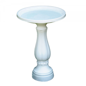 Bloem Living 270-10 Promo Bird Bath with Pedestal $15.99 Shipped!