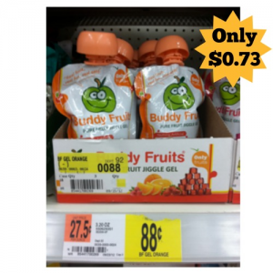 Walmart: Buddy Fruits $0.73!