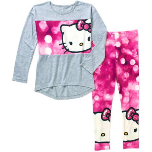 Hello Kitty Girls' Printed Legging Set $11.50!