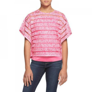 LEI Girls' Boxy Top $3.50 (Reg $9.94)