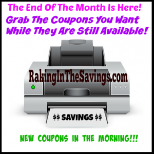 The End of the Month Is Here! Grab The Coupons You Want Before They Disappear Tonight!