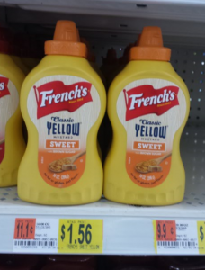 French's Classic Yellow Sweet Mustard Just $.31 at Walmart With Coupon Stack!