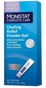 Free Full-Size Sample of Monistat Complete Care Chafing Relief Powder Gel!