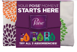 Today's Free Sample: Free Poise Starter Pack!
