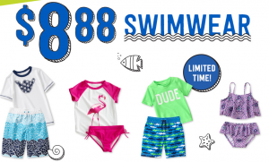 Get Ready For Summer! 2 Days Only Kids Swimwear Only $8.88! (Reg Price Up To $19.88)