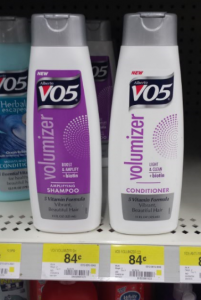 New Alberto VO5 Volumizer Shampoo or Conditioner For $.46 at Walmart!