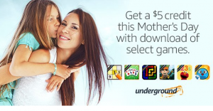 FREE $5 Amazon Credit With Download Of Select Games On Amazon Underground!
