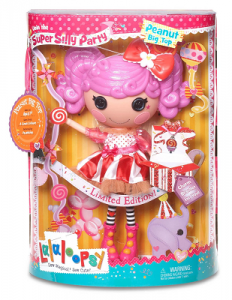 Lalaloopsy Super Silly Party Large Doll- Peanut Big Top $12.65 (Reg $24.99)