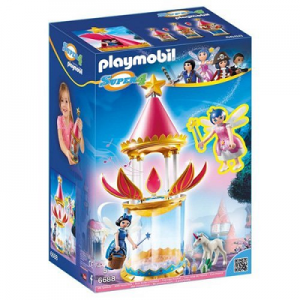 PLAYMOBIL Super 4 Musical Flower Tower with Twinkle Building Kit $13.62 (Reg $49.99)