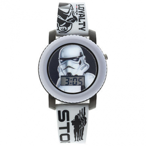 **Bluelight Special** Star Wars Classics Storm Trooper Flashing Lights and Sounds LCD Watch $4.99 (Reg $16.99)