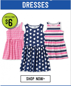 Girls' Dresses Only $6! So Many Cute Dresses To Choose From!