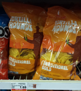 Fred Meyer Tortilla Chips (10 oz Bags) For $.67 at Fred Meyer!