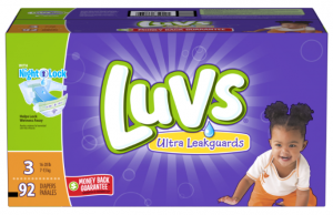 Big Savings on Luvs Diapers + Enter Our Giveaway For a $100 American Express Gift Card!