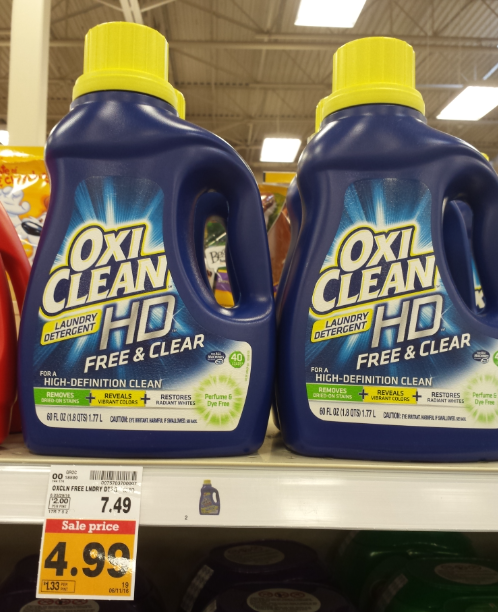 Oxi Clean Hd Laundry Detergent 2 99 At Fred Meyer Reg