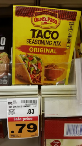 My Favorite Taco Seasoning! Grab Old El Paso Taco Seasoning For $.46 at Fred Meyer!