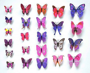 12 Pcs 3D Butterfly Wall Stickers $1.27! Plus They Ship FREE!