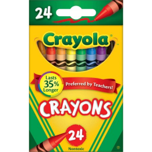 Crayola Classic Color Pack Crayons, 24 count $0.50!