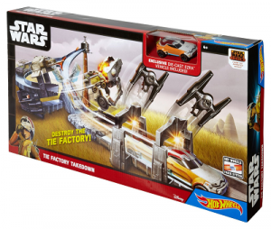 Hot Wheels Star Wars TIE Factory Takedown Track Set $10.44 (Reg $24.99)