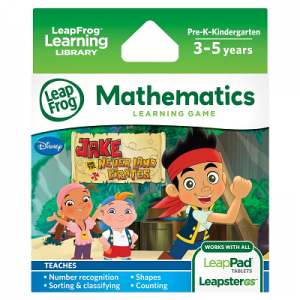 LeapFrog Jake and The Never Land Pirates Learning Game $8.87 (Reg $24.99)