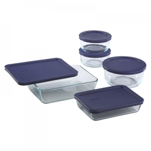 Pyrex 10 Piece Simply Store Food Storage Set, Clear $14.39 (Reg $26.99)