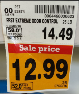 Pet Deal! New Fresh Step With Febreze Cat Litter Only $9.94 at Fred Meyer! (Reg. $14.49)