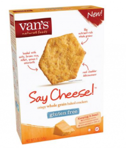 Target: Van's Gluten-Free Crackers $0.95 After Coupon Stack!