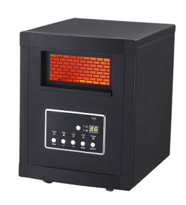 Large Room Infrared Quartz Heater with Remote Control $37.43 (Reg $89.99)