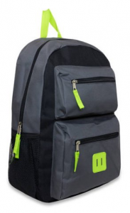 Back To School For Less! Boys 18″ Double Pocket Backpack Just $6.88!