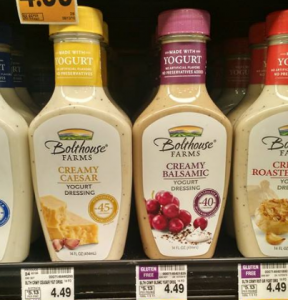 Bolthouse Farms Dressing Only $1.99 at Fred Meyer! (No Coupons Needed – Reg. $4.49)
