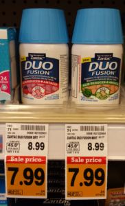 Woo hoo!! Free + Money Maker Zantac Duo Fusion at Fred Meyer!
