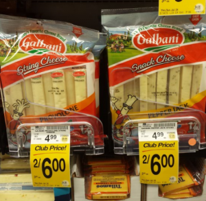 Galbani Snack Sticks or String Cheese 12 pks Only $2.00 at Safeway! (Reg. $4.99)
