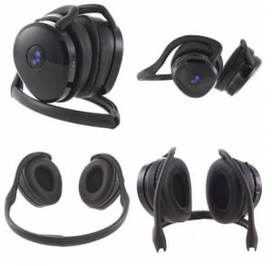 HOT! Money Maker on Able Planet True Fidelity Bluetooth Behind-the-Head Stereo Headphones After Points!