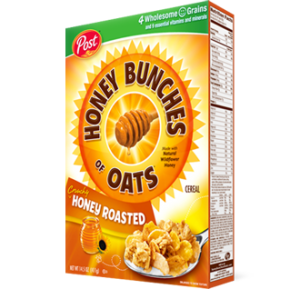 Don't Miss Your $1.38 Post Honey Bunches of Oats Cereal at Fred Meyer!