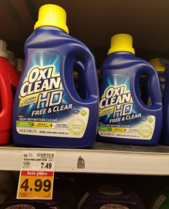 Oxi Clean HD Laundry Detergent $1.99 at Fred Meyer With High Value Coupon!
