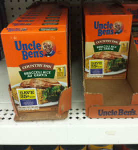 Uncle Ben's Country Inn Rice $.67 at Dollar Tree!