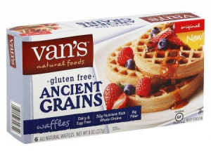 Van's Gluten-Free Waffles FREE After Coupon Stack!