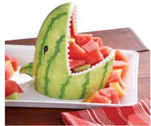 What a Cute Idea! Get This Ceramic Watermelon Party – BBQ Serving Bowl For Your Next Barbecue!