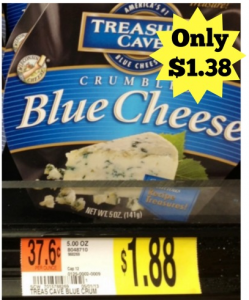Treasure Cave Cheese Only $1.38!