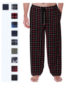 Fruit of the Loom Men's Fleece Sleep Pant $5 (Reg $10.92)