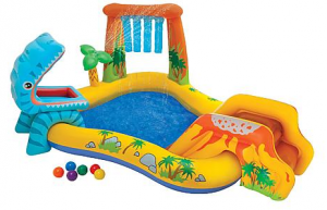 Intex Inflatable Dinosaur Pool and Play Center $23 (Reg $44.99)