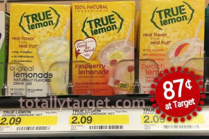 True Lemon Lemonade Mix 10 ct Only $0.87 After Coupon Stack!