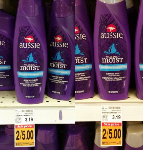 FREE Aussie Mega Moist Shampoo and Conditioner at Fred Meyer!