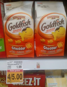 Fred Meyer Shoppers: Pick up $.25 Pepperidge Farm Goldfish Crackers!