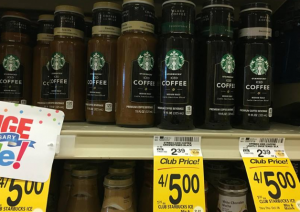 Grab a Bottle of Starbucks Iced Coffee For $.25 at Safeway!