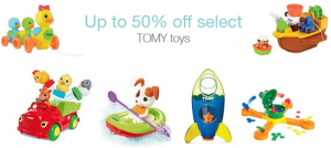 Today Only! Get TOMY Toys Up To 50% OFF!
