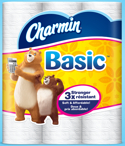 picture relating to Charmin Printable Coupon titled Charmin Fundamentals or Fundamental principles Tub Tissue 12 Double Rolls (up