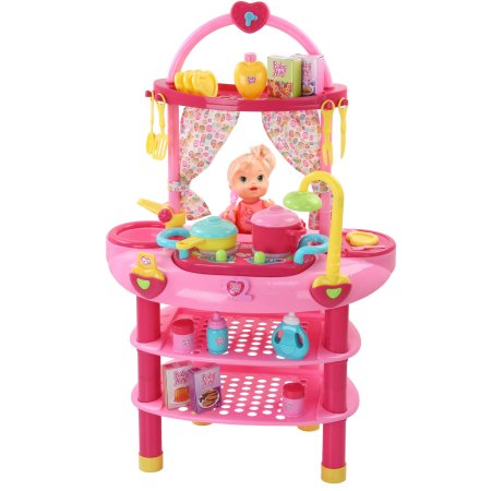 Baby Alive Doll 3-in-1 Cook 'n Care Set $40 (Reg $69)